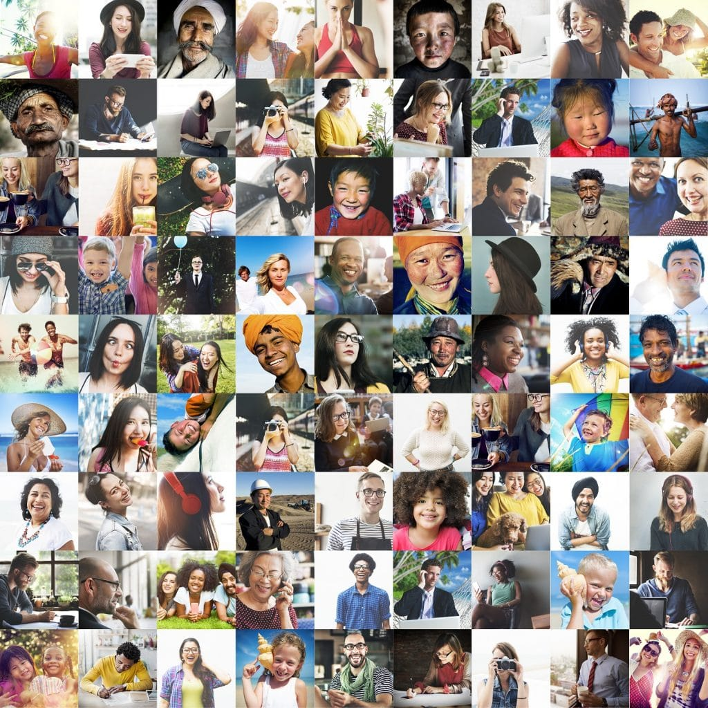 collage of photos from social media