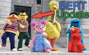 Sesame Street characters including Big Bert