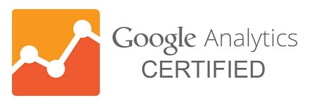 Google Analytics Certified logo