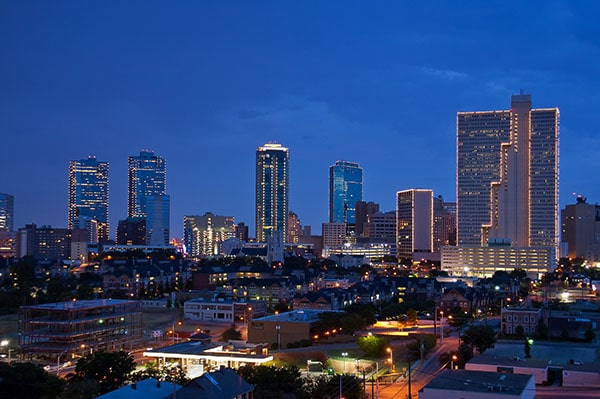 Downtown skyline of Fort Worth, Texas