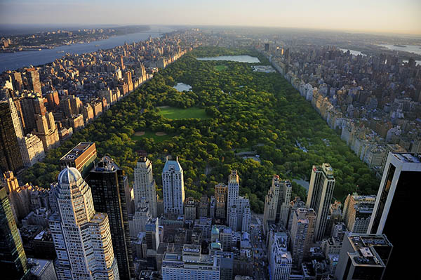 Grand Central park in New York City