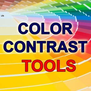 Free Color Contrast Tools